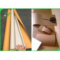 Quality DIY Natural Colorful Washable Kraft Paper Fabric With Silk Printing for sale