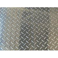 Buy Color Coated Polished Aluminum Checkered Sheet Thickness 1.5mm - 6mm , Diamond at wholesale prices