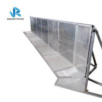 Quality Silver / Black Entry Crowd Control Barrier Customized Size 5 Years Warranty for sale