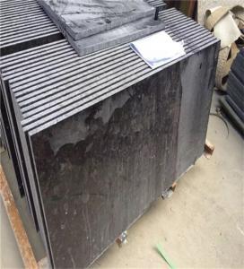China Outdoor Granite Marble Stone / Black Granite Kitchen Floor Tiles on sale