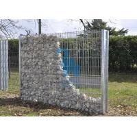 Quality Anti - Rust Gabion Wall Cages Gabion Wire Mesh Panels For Highway Guardrail for sale