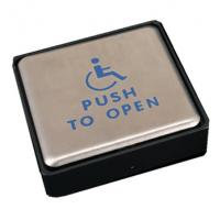 Quality Stainless Steel Push To Open Switch , Handicap Push To Open Button For Door for sale