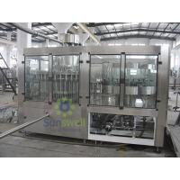 Buy 3-In-1 Juice Filling Machine Full Automatic With 18000BPH Production Capacity at wholesale prices