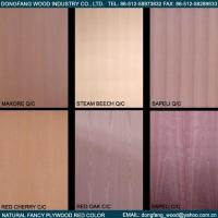 Quality Natural Fancy Plywood Red Color for sale