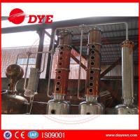 Quality Industrial Steam Distillation Machines 1-3 Layers Vodka Available for sale