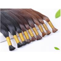 Quality Double Weft Colored Human Hair Extensions Colored Human Hair Weave for sale
