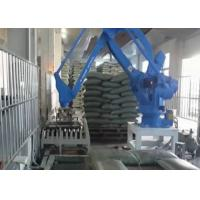 Quality Multi Joint Rapid Robot Palletizing System / Multi Axis Robotic Arm For Cartons & Bags for sale
