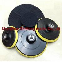 Buy Strong strength adhesive hook loop polishing abrasive at wholesale prices