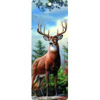 Quality Cute Reindeer 5.6x15.3cm Size 3D Lenticular Bookmark With Colorful Tassel for sale