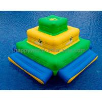 Quality aquaglide slide ,lake inflatable water park games , mini inflatable water prk for sale