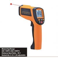 China Precise non-contact safe laser IR thermometer, Handheld infrared thermometer 200 ~ 1850℃ on sale