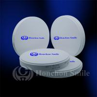 Quality 98.5mm ST Translucent Monolayer Zirconia Blocks Dental Zrconium Disk CADCAM Milling Blanks for sale