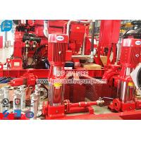 Quality Non Self Priming Contrifugal Fire Fighting Jockey Pump Set 50Hz Vertical Type for sale