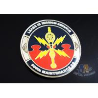 China 2D Army Challenge Coins Souvenir Gift , Round Military Commemorative Coins on sale