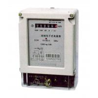 Quality Two Wires Single Phase Electric Meter Active Energy Measuring With Register Display for sale