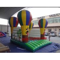 PVC balloon Commercial Inflatable Bouncers / inflatable moonwalk for rent
