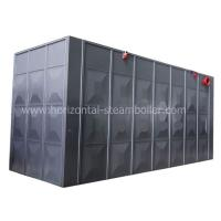 Quality Industrial Mill Coal Fired Hot Water Boiler / Fire Tube Hot Water Boiler System for sale