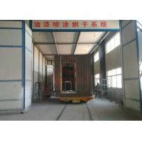 Quality Storage Battery Explosion Proof Self Driven Trailer For Building Material Moving for sale
