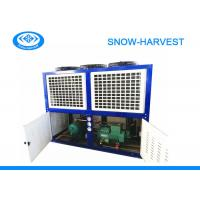 Quality Industrial Freezer Condenser Unit Anti Corrosion Strong Case Long Work Life for sale