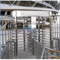 Quality Full Height Turnstile 304 Stainless Steel RFID Access Control Door Outdoor Use for sale