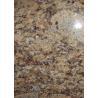 Gialla Veneziano Yellow Granite Stone Tiles , Natural Granite Floor Tiles Good Weather Tolerance for sale