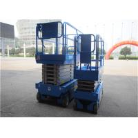 China Professional Self Propelled Scissor Lift Foldable Dismountable Guardrail For Construction on sale