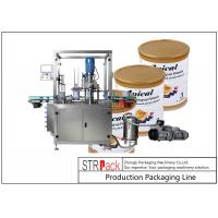 Quality Linear Automatic Can Seaming Machine / Tin Sealing Machine For Vacuuming And Nitrogen Filling for sale