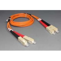 Buy cheap Singlemode Duplex G657A1 LSZH Fiber optic patch cord , fiber optic jumper SC / from wholesalers