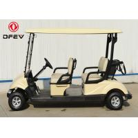 Quality Club Car Precedent Four Passenger Golf Cart  Electric With Curtis Controller for sale