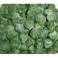 China Frozen spinach balls 4-5cm on sale