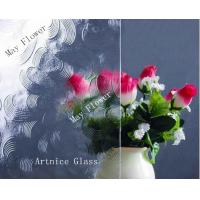 Quality 3mm to 8mm May Flower Patterned Glass, Rolled Glass, Figured Glass with Certificate ISO and BV for sale
