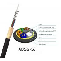 Quality All-Dielectric self-supporting aerial ADSS fiber optic cable ADSS CABLE with 100m 200m span for sale