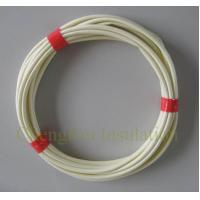 Quality AC DC protection insulating electrical wire sleeve pvc fiberglass sleeving for sale