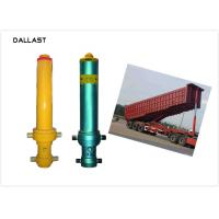 Quality 1 Acting  Dump Trailer Hydraulic Cylinder  Welded Parker HRC 45-55 Hardness for sale