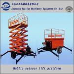 Quality Diesel scissor lift table for sale