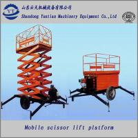 Buy cheap Diesel scissor lift table from wholesalers