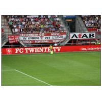 Quality Perimeter Advertising Stadium LED Display , P20 Full colors Large Curved Monitor  Wide View for sale