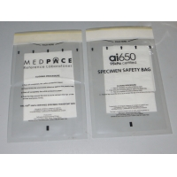 Quality Laminated 95Kpa Biohazard Transport Specimen Bags for sale