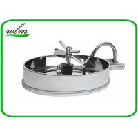304 316L Stainless Steel Manhole Cover Sanitary Elliptical Shape For Hygienic