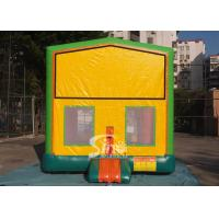 Quality 13x13 commercial inflatable module bounce house with various panels made of 18 OZ. PVC tarpaulin for sale
