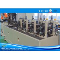 Quality ERW Pipe Machine Less Waste TIG Welding With PLC Control ISO Certification for sale