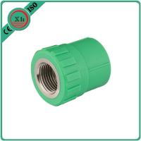 Quality Polypropylene Random Virgin PPR Female Socket Corrosion Resistant Green Color for sale