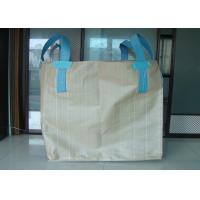 Quality OEM Tubular Big FIBC Bulk Bag Containers , Woven Polypropylene Jumbo Bags for sale