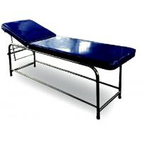 Quality Stainless Steel Medical Examination Couch Blue Color Legs Fitted With PVC Stumps for sale