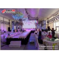 Buy Waterproof 20x40 Party Tent , 800 Seater Big Commercial Tent OEM Available at wholesale prices