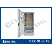 Quality Outdoor Power Cabinet / Battery Enclosure / IP55 19inch Rack Base Station Enclosure for sale