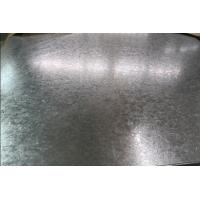 Quality SGCD Full Hard Q195 Zinc Coated Steel Sheet Plate 700mm - 1500mm Anti - Corrosion for sale