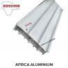 Nigeria Powder Coating Beige Color Window And Door Aluminum Profiles 40x40 for sale