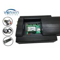 Quality 3g Video Car Camera Alarm System HDD Mobile DVR With G-Shock Geofence Panic Button for sale