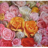 Quality 2012 new flower painting room decoration for sale